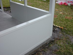 Insulated Panel for a clean look.