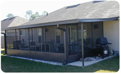 Martin Home Exteriors, Screen Rooms, Jacksonville Screen Rooms Crescent Beach