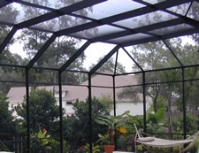Screen Roof Tops, Jacksonville Window Contractors, Martin Home Exteriors