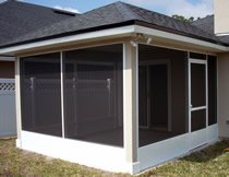 Screen Room 5, Jacksonville Window Contractors, Martin Home Exteriors